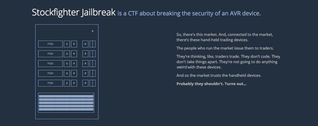 StockFighter Screenshot